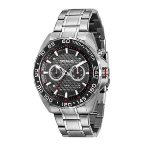 Relógio Seculus Masculino 20546g0svna1 Multifunção Prateado