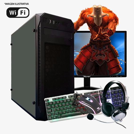 Pc Gamer I5 6ª, 16gb Ram, Hd Ssd 240gb Gtx 1050 4gb Completo