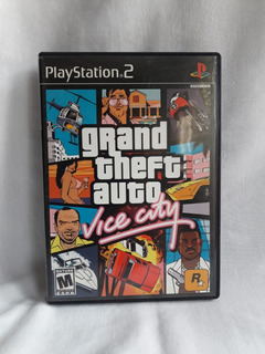 Grand Theft Auto Vice City - Como Nuevo - Ps2