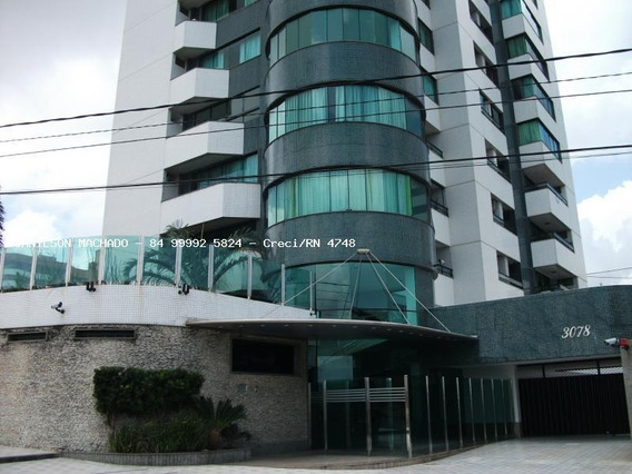 Apartamento Para Venda Em Natal, Candelária - Condomínio Residencial Crystal Green, 4 Dormitórios, 4 Suítes, 7 Banheiros, 4 Vagas - Ap1157-crystal Green