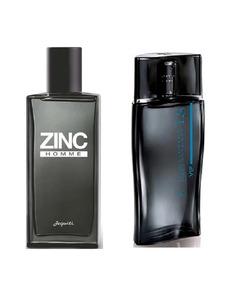 Perfumes Masculinos Jequiti : Luan Santana Vip + Zinc Homme