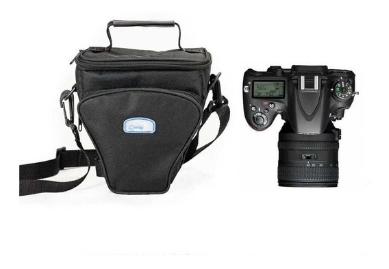 Bolsa Reflex Ii Triangulo Crazy Para Canon Nikon Sony Fuji