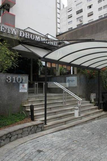 Flat Com 1 Dormitório Para Alugar, 30 M² Por R$ 3.300,00/mês - Cerqueira César - São Paulo/sp - Fl4085