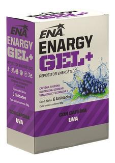 Enargy Gel + Cafeina Ena Caja X 6 Un. Repositor Energetico
