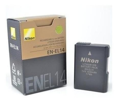 Bateria P/ Nikon En-el14 D3100 D3200 D3300 D5100 D5200