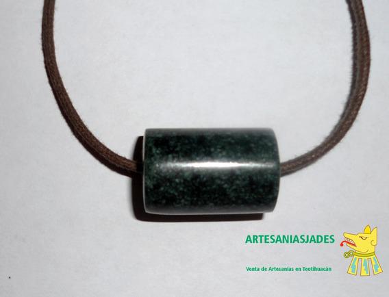 Tubo De Jade Verde Jaguar - Jade Jadeita