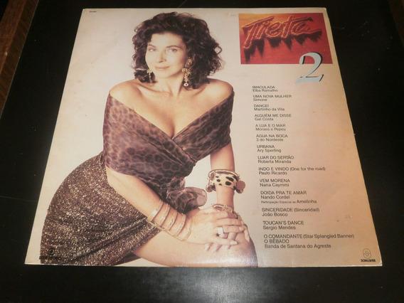 Lp Trilha Sonora Da Novela Tieta 2, Disco Vinil, Ano 1989