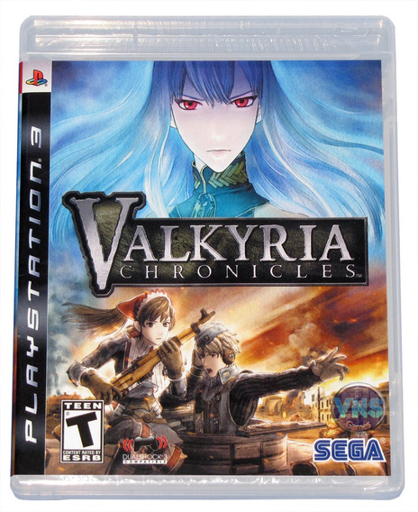 Valkyria Chronicles - Playstation 3 - Americano - Lacrado