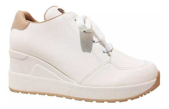 Tênis Quiz Sneaker Zíper 67-19903 Feminino Original + Cores