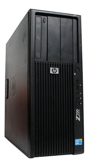 Computador Workstation Hp Z200 I3 8gb 120ssd