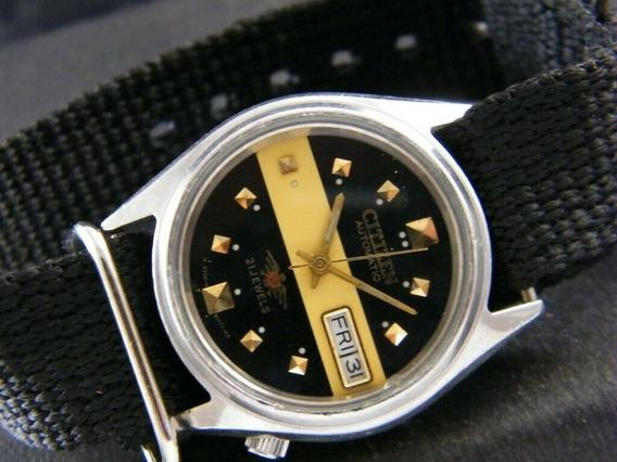 Relógio Citizen 21 Jewels Automático Revisado Caixa 35mm