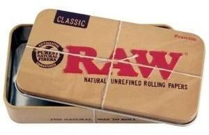 Cigarrera Metal Raw Lata Porta Cigarros King Size
