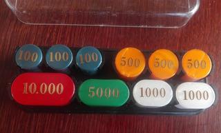 Poker Fichas Didatto Italia, Vintage De Los ´90s
