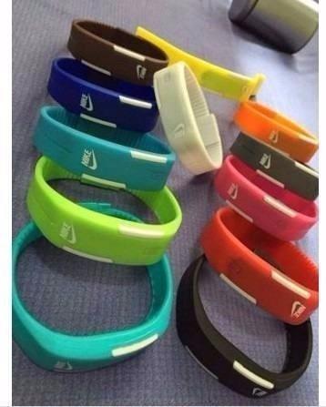 Kit 24 Pulseira De Led Nike- Bracelete A Pronta Entrega!!!!!