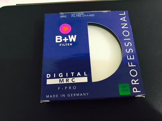 Filtro B+w Uv 77mm Mrc Original E Novo