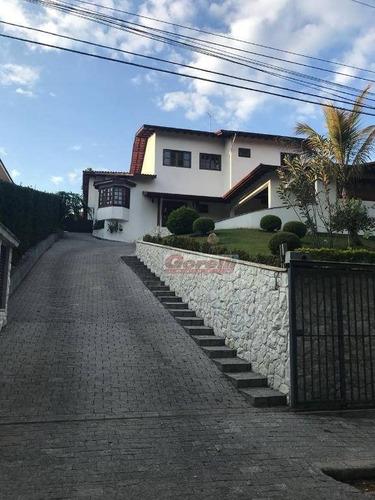 Casa Com 3 Dormitórios À Venda, 640 M² Por R$ 2.500.000,00 - Condomínio Arujazinho I, Ii E Iii - Arujá/sp - Ca1251