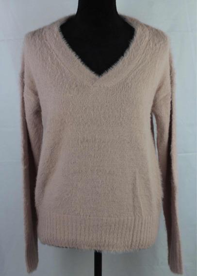 Suéter Importado Vero Moda Color Palo De Rosa Talla Mediana