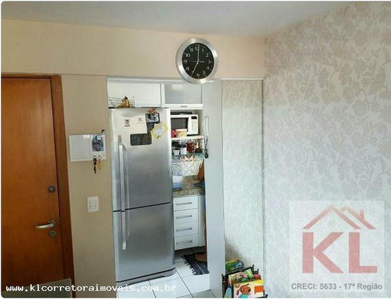 Apartamento Para Venda Em Natal, Capim Macio, 2 Dormitórios, 1 Suíte, 2 Banheiros, 1 Vaga - Ka 0395_2-876400