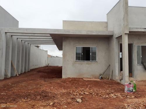 Imagem 1 de 15 de Casa Para Venda Em Ponta Grossa, Nova Ponta Grossa, 3 Dormitórios, 1 Suíte, 1 Banheiro, 2 Vagas - _1-1820673