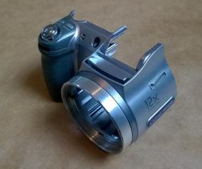 X21089061 Carcaça Gabinete Frontal Câmera Sony Dsc-h2
