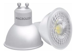 Lampara Dicroica Led 7w Macroled Blanco Frió 220v Gu10