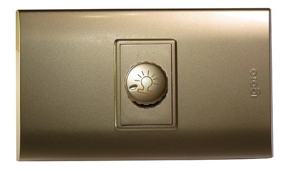 Interruptor Sencillo Igoto Dimmer Apagador Dimer Igoto B540s