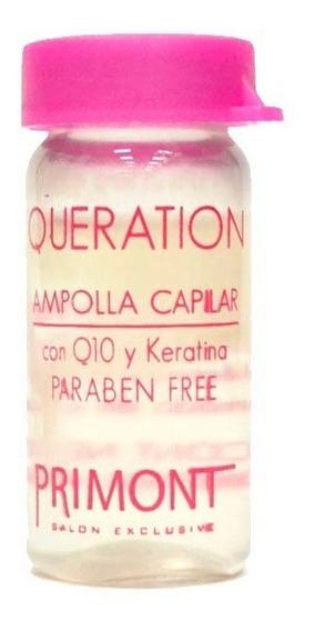 Ampolla Capilar Nutritiva Keratina X10ml Queration Primont