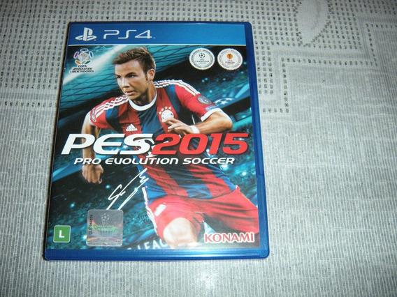 Pes 2015- Pro Evolution Soccer - Ps 4.conservado.