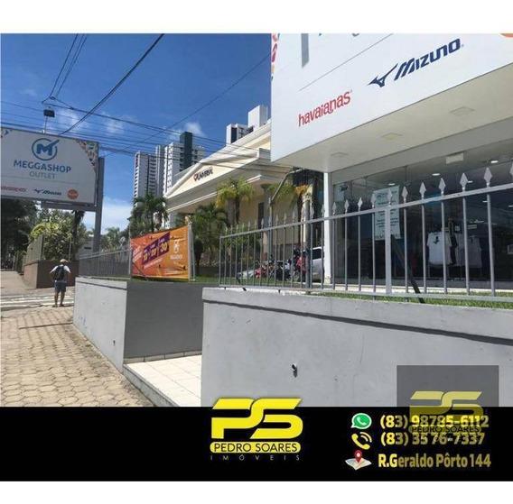 Loja Para Alugar, 500 M² Por R$ 25.000/mês - Torre - João Pessoa/pb - Lo0015