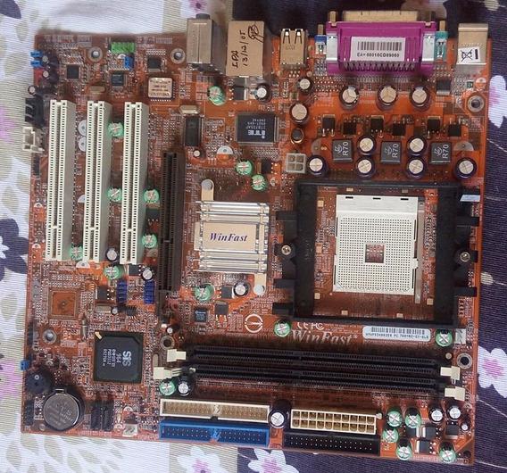 Placa Mãe Goal 3+ Socket 754 Sis 751gx/965l Chipset
