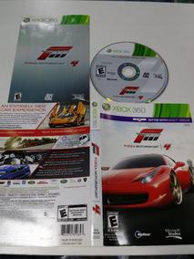 Xbox 360 Forza Motor Sport 4 C/ Defeito Arranhado