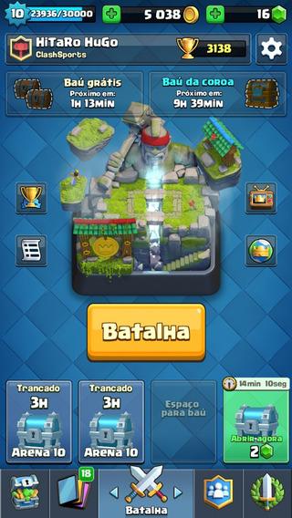 Clash Royale 8 Lendaria