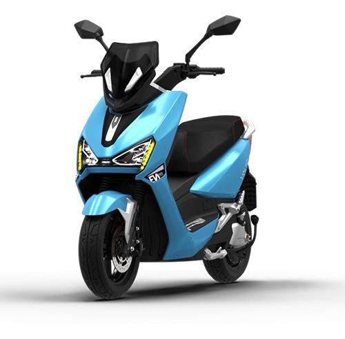 Imagem 1 de 10 de Scooter Moto Elétrica Voltz Ev1 Sport Azul Turto Uma Bateria