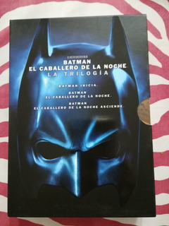 Trilogia Batman - El Caballero De La Noche - Dvd Original