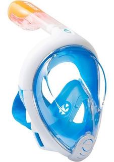 Máscara De Snorkeling À Superfície Easybreath Subea Azul