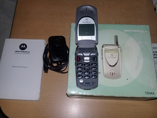 Motorola V60i En Caja Con Cargador Y Manual