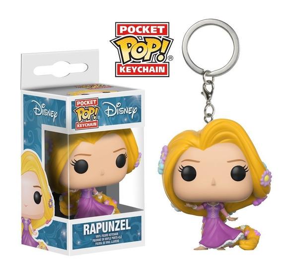Chaveiro Funko Pop Keychain Disney - Rapunzel (funko, Até 99