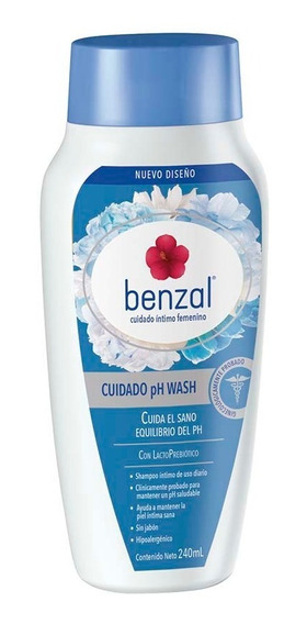 Benzal Wash Ph Lactoprebiotico240 Ml