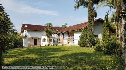 Chácara Residencial À Venda, Barragem, São Paulo. - Ch0138