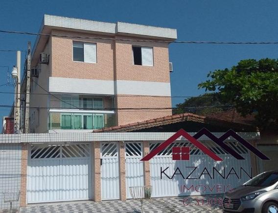 Casa Duplex - 3 Dormitórios - Churrasqueira - São Vicente - 3026