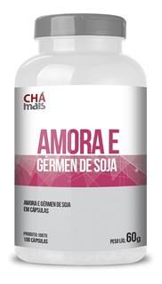 Amora E Germen De Soja 100 Cápsulas - Chá Mais