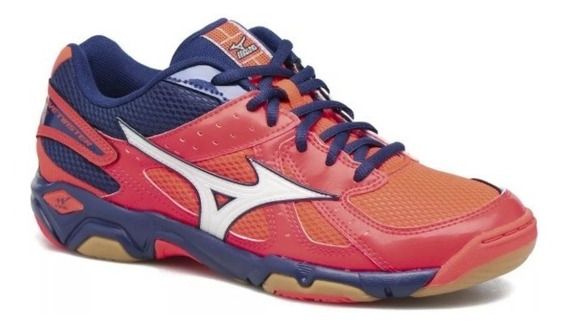 Mizuno Twister 4 Coral, Volley, Indoor, Handball, Salas