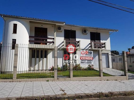 Casa Com 04 Dormitórios Com Entrada + Parcelamento Em 100 Meses - Ca1610