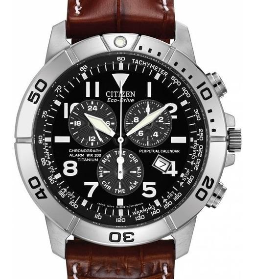 Relógio Masculino Citizen Calendário Perpétuo Titanium
