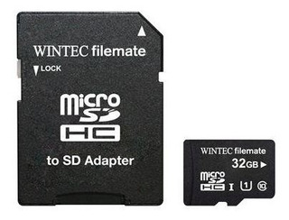 Wintec Filemate Pro Plus 32gb Uhs-i U1 Microsdhc C10 Card W