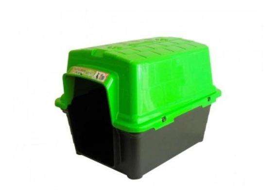 Casinha Para Cachorro Plastica 2 Em 1 N 4 Verde Furacãopet