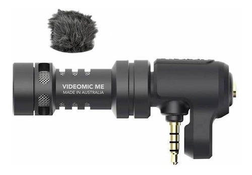 Imagen 1 de 3 de Micrófono Rode VideoMic Me condensador cardioide negro