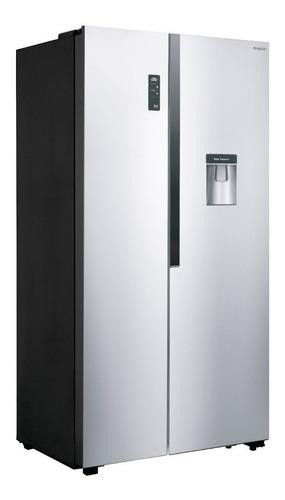 Heladera no frost Peabody PE-SBS67  acero inoxidable con freezer 516L 220V