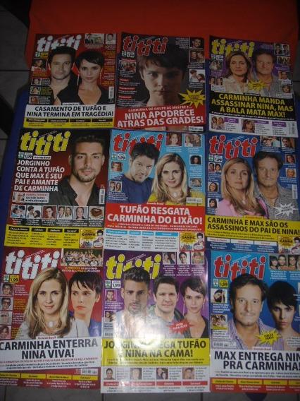 Lote C/ 22 Revistas Tititi - Avenida Brasil / Carminha