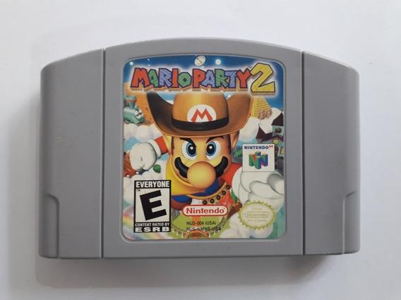 Fita Mario Party 2 - Nintendo 64